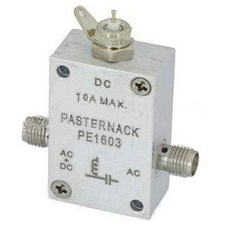 1GHz到5GHz 的SMA偏置T额定是1000mA和50 Volts DC