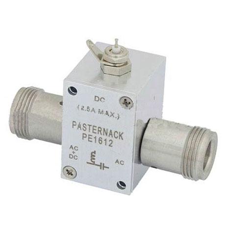 10MHz至2.5GHz N偏置三通额定至2500mA和100伏直流电