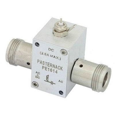 30MHz至4GHz N偏置三通额定至2500mA和100伏直流电